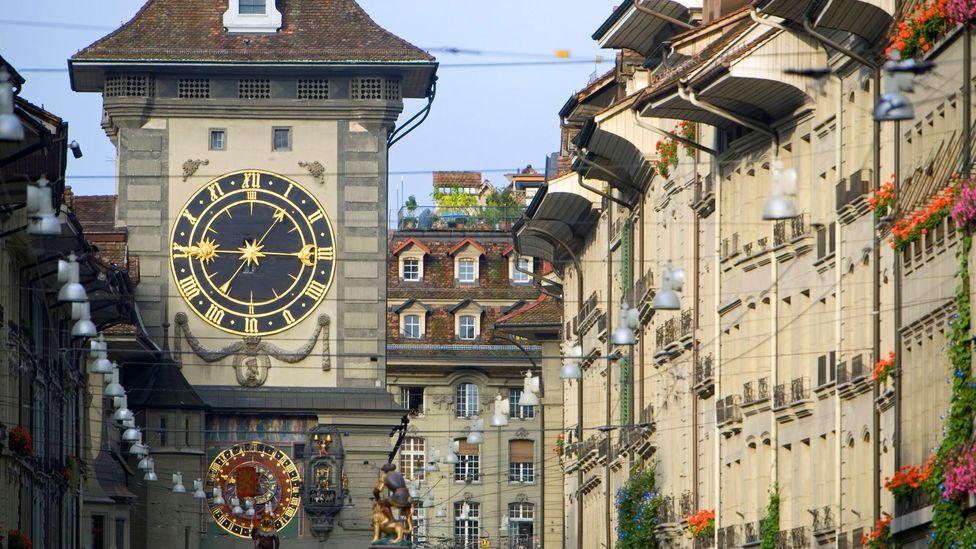 Bern's clock  tower inspired Albert Einstein (Credit: Jon Arnold Images Ltd/Alamy)