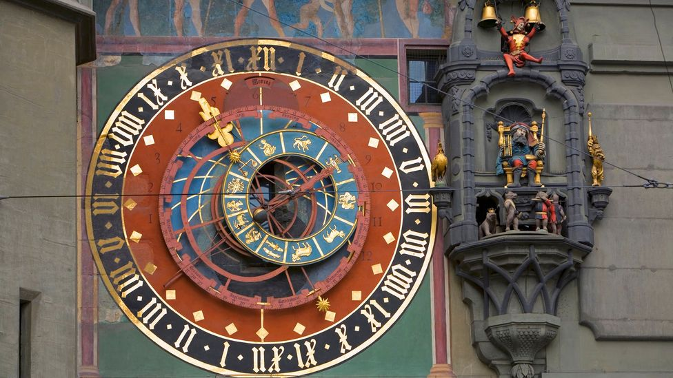 Zytglogge powers an hourly performance with each strike of its bell (Credit: Douglas Pearson/Getty)