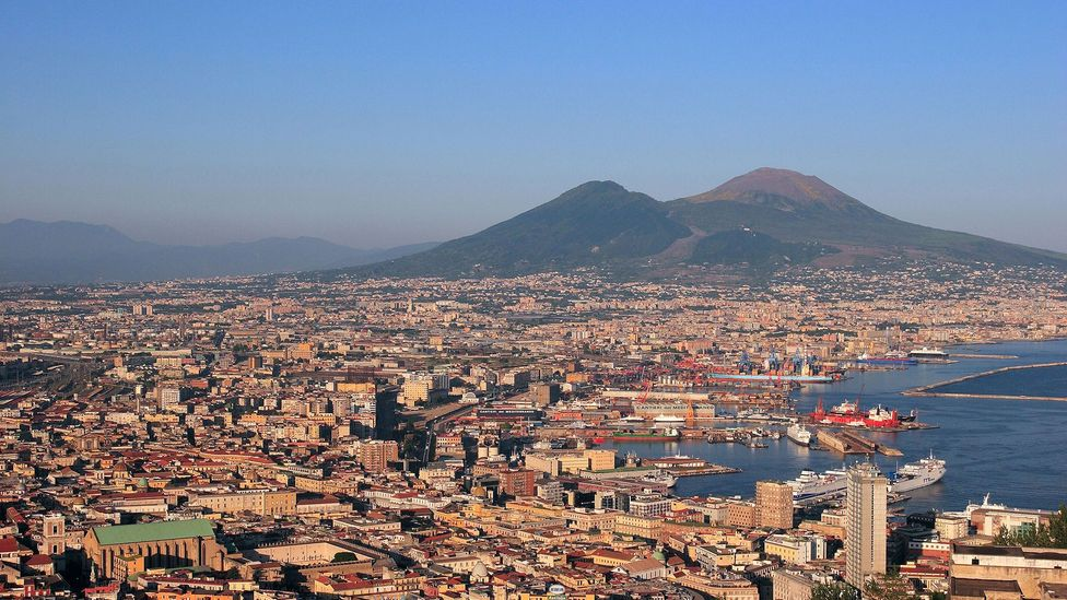 Millions of people in Naples and the surrounding areas would be affected by an eruption (Credit: Alamy)