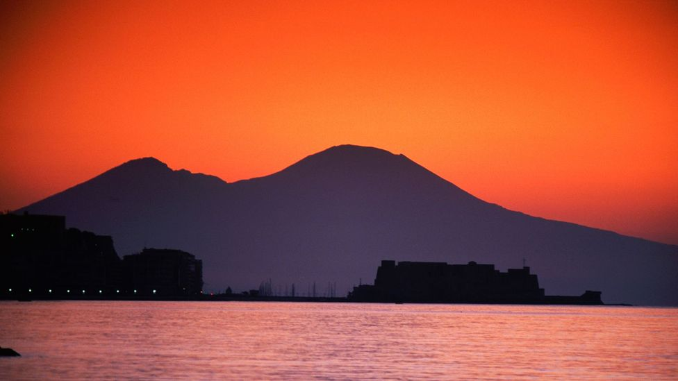 Vesuvius towers over the region, but it's not the biggest volcano there (Credit: Alamy)