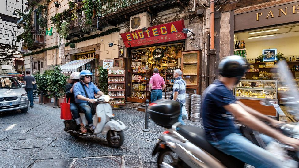 Naples residents must live their lives in the shadow of potential catastrophe (Credit: Alamy)