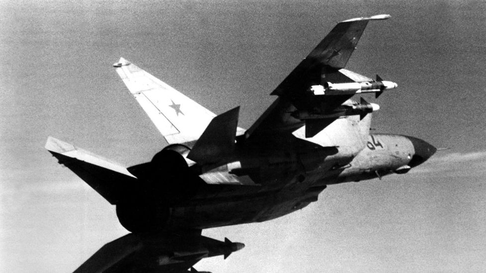 The US thought it was dealing with a Soviet fighter that could outfly anything (Credit: US Navy)