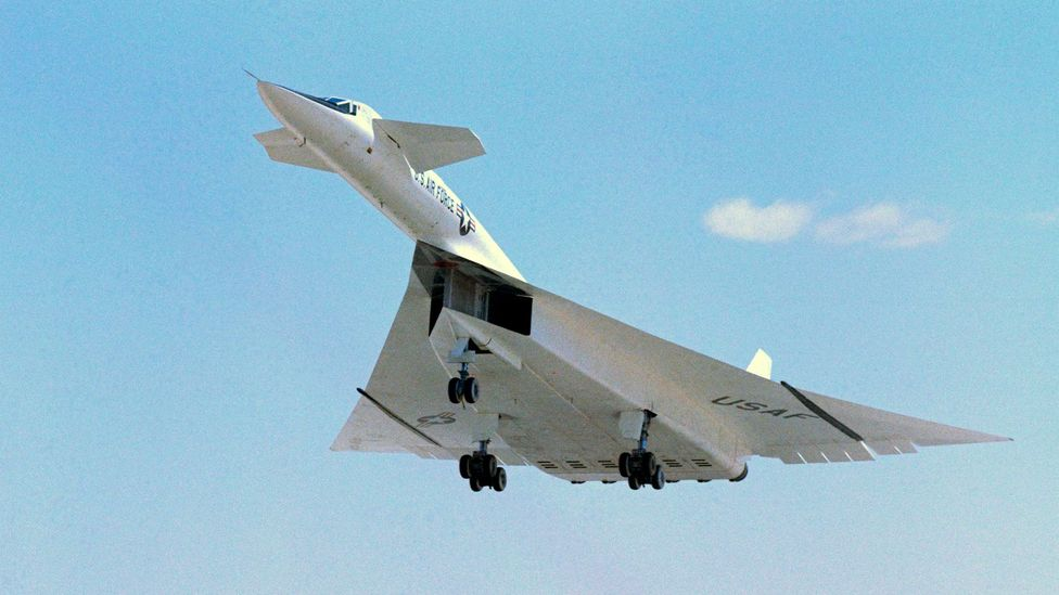 The XB-70 bomber would have been able to fly at three times the speed of sound (Credit: Science Photo Library)