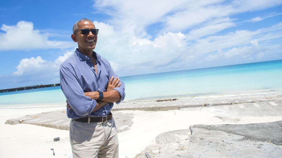 President Obama created the largest nature reserve on Earth (Credit: Saul Loeb/Getty)