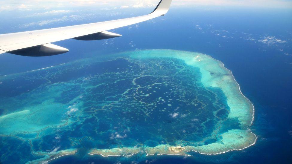 Papahānaumokuākea is located 2,100km northwest of the main Hawaiian Islands (Credit: Saul Loeb/Getty)