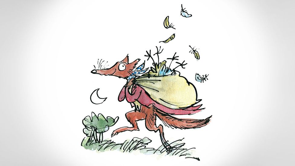 Titles such as Fantastic Mr Fox, The BFG and Matilda regularly appear on lists of the most popular children's books ever (Credit: Illustrations © Quentin Blake)