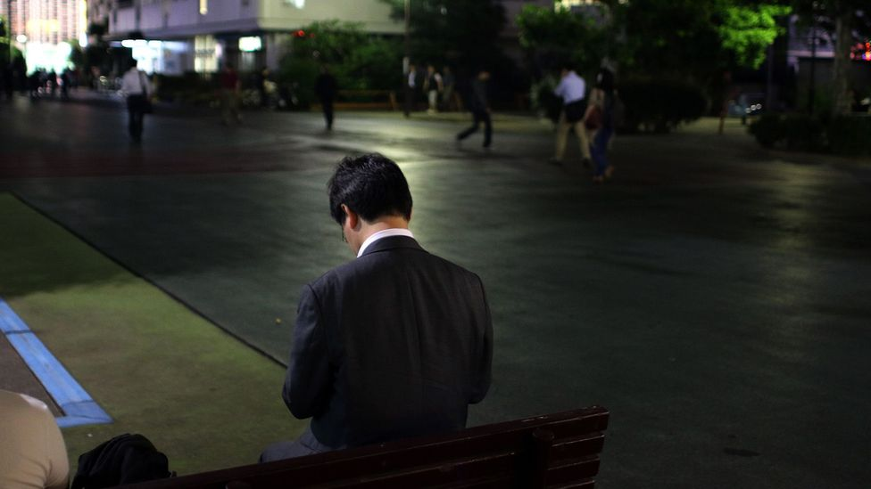 Death from overwork is a recognised problem in Japan – some put the number of deaths as high as 10,000 (Credit: Getty Images)