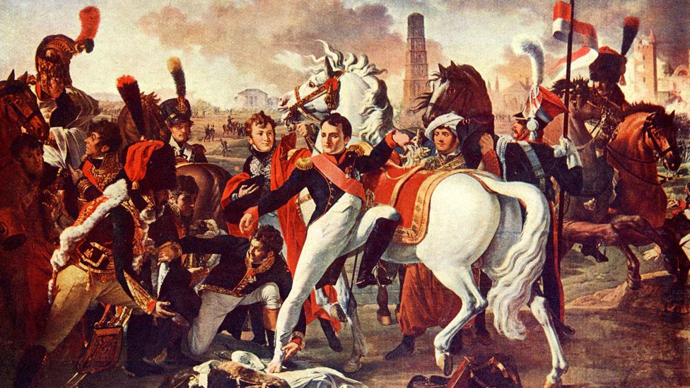 Napoleon Bonaparte's penis was allegedly removed from his body and passed down from generation to generation (Credit: Alamy)