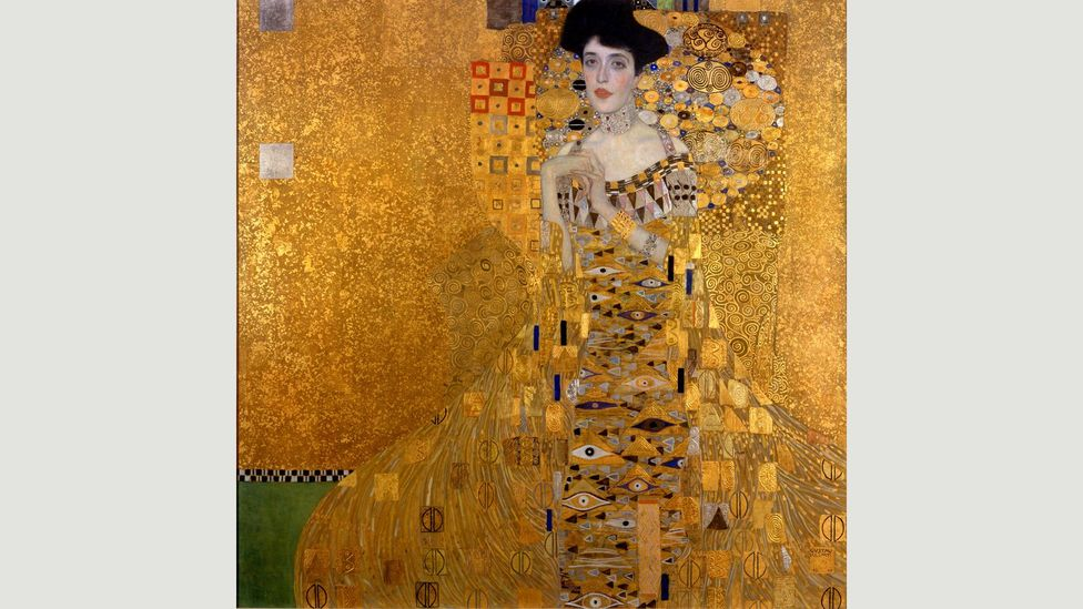 Portrait of Adele Bloch Bauer I set a record when it was sold at auction in 2006 (Credit: Gustav Klimt/Neue Galerie New York)