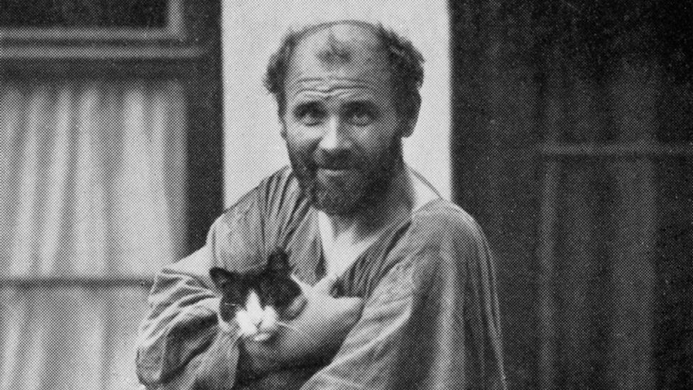 Maverick, kaftan-clad Gustav Klimt was one of the Bloch-Bauers' favourite artists (Credit: Alamy)