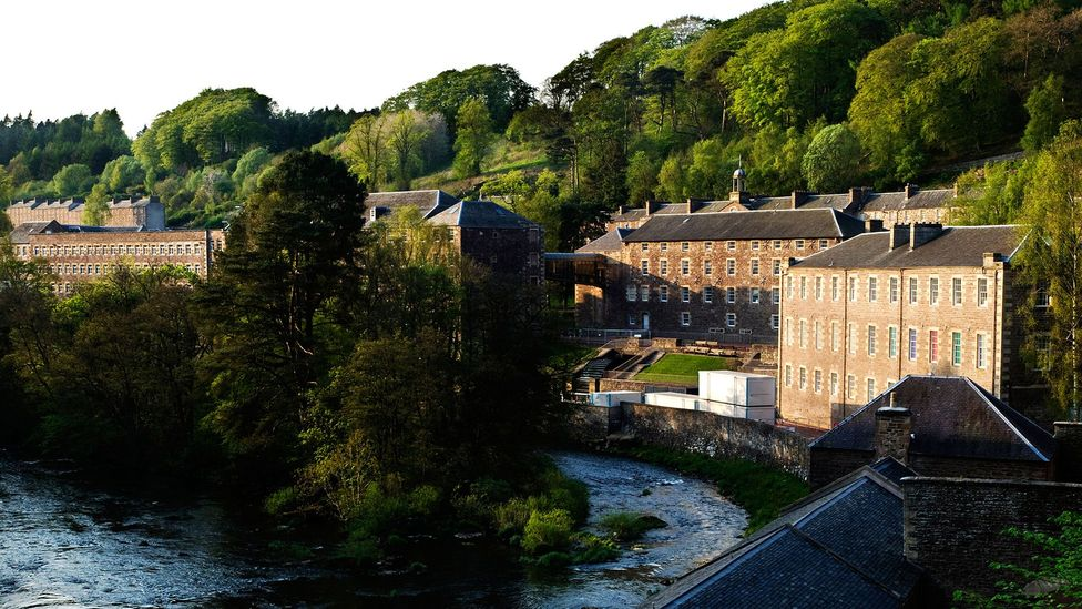 After Robert Owen's first cooperative village in New Lanark, Scotland opened in 1813, the idea spread throughout Britain (Credit: Clearview/Alamy)