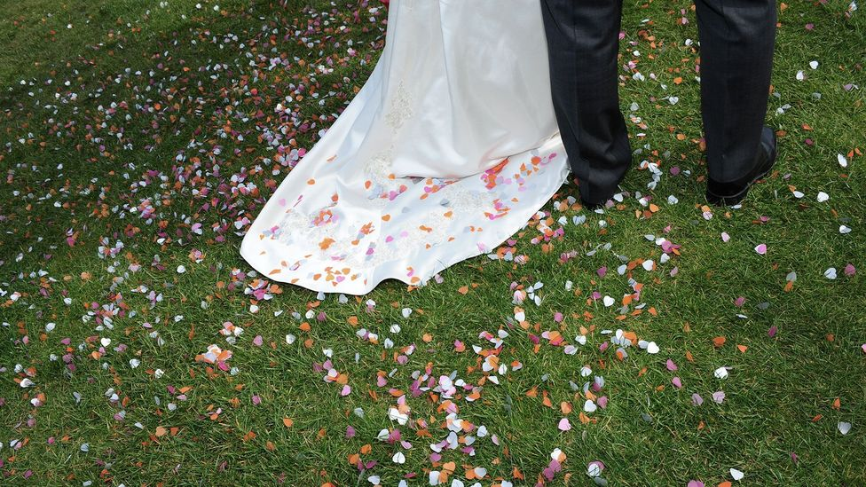 Even memories of your wedding day may have been eroded or fabricated by your friends (Credit: Alamy)