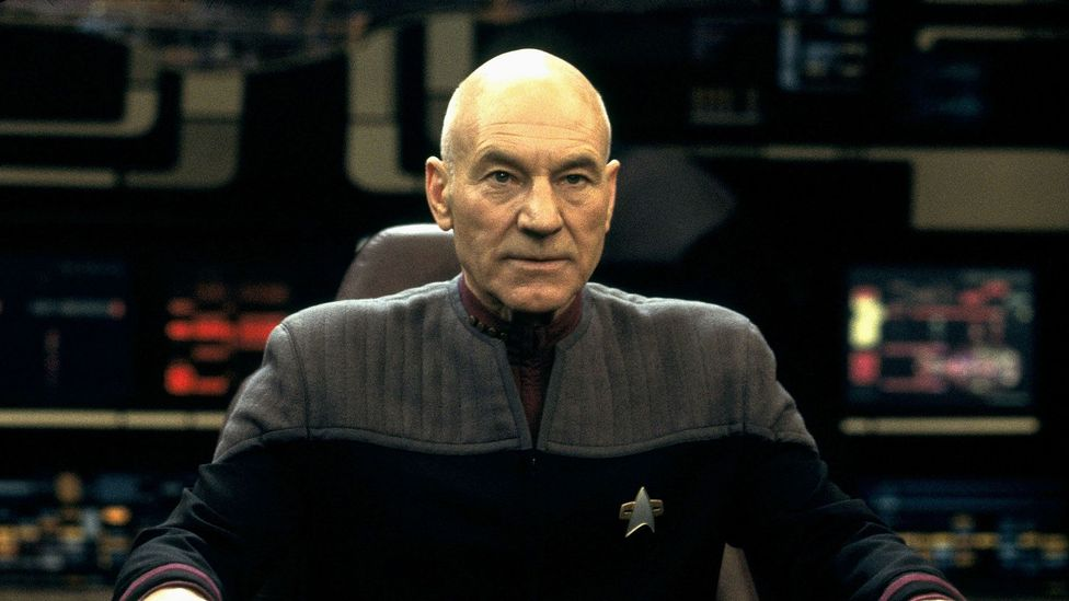 Sir Patrick Stewart has been bald since he was 19 (Credit: Alamy)