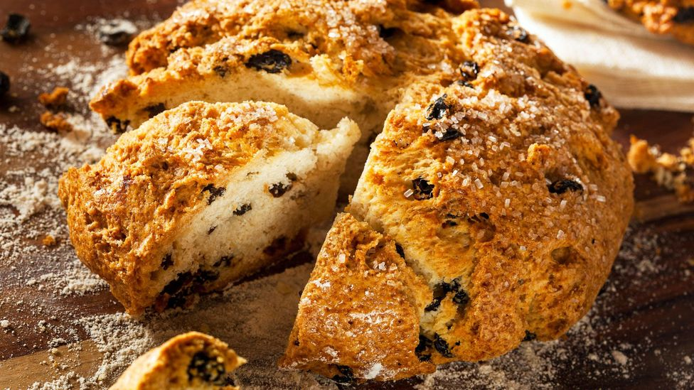 The preparation of soda bread is the same no matter the ingredients (Credit: Brent Hofacker/Alamy)