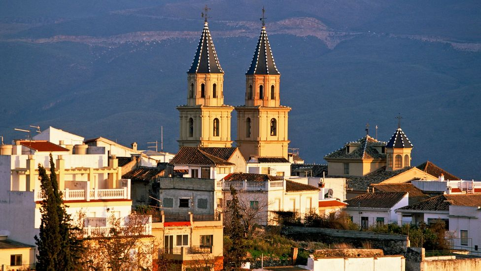 Órgiva is tucked away in the Alpujarra mountain region (Credit: robertharding / Alamy Stock Photo)