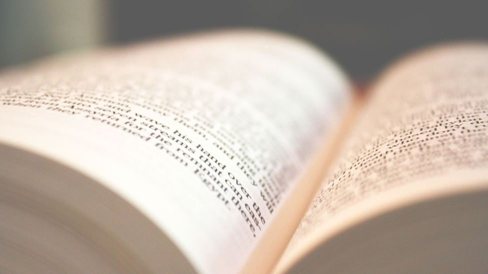 You can see the power of the attentional spotlight whenever you read a book - a few words pop out while all the rest escape you (Credit: iStock)