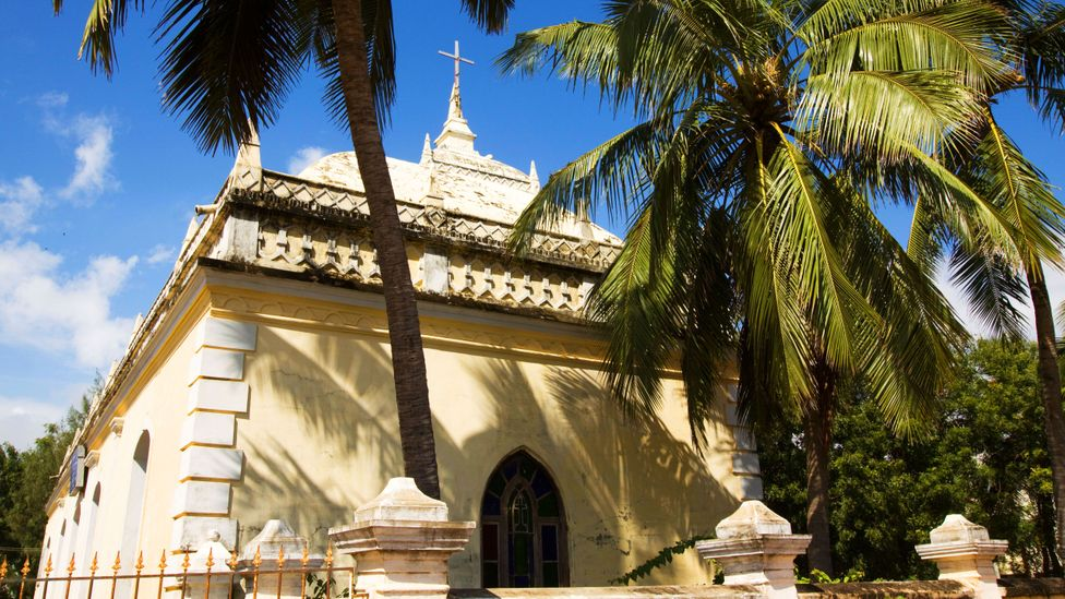 Old Danish buildings are being carefully restored in Tranquebar (Credit: travelib prime / Alamy Stock Photo)