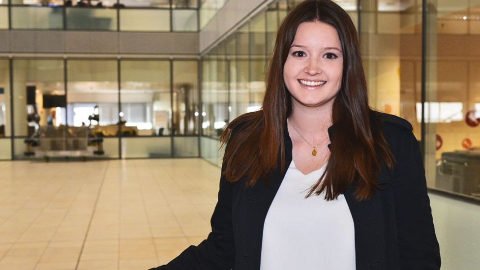 Jennifer Drabble took an expat assigment with Barclays and it has already helped her advance (Credit: Jennifer Drabble)
