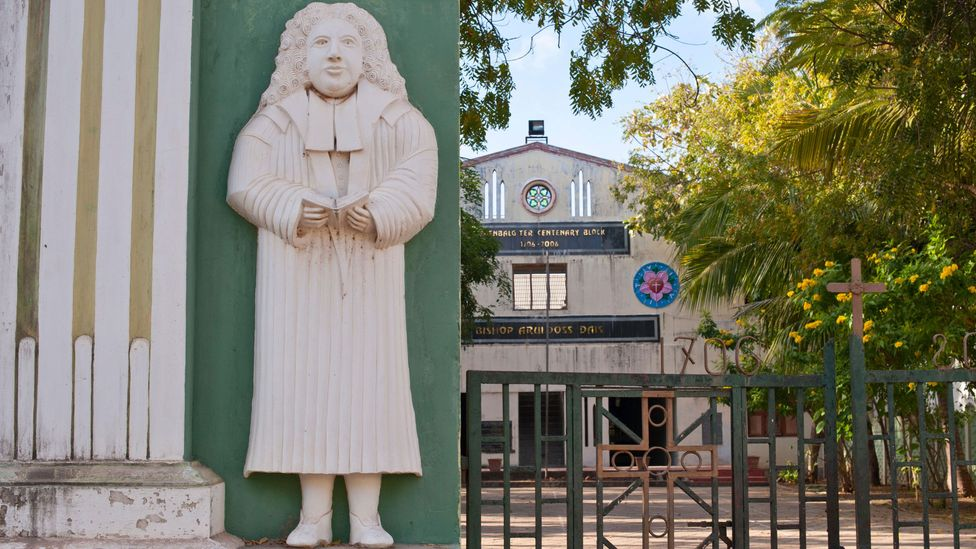Most schools in Tranquebar are managed by convents and churches (Credit: Hemis / Alamy Stock Photo)