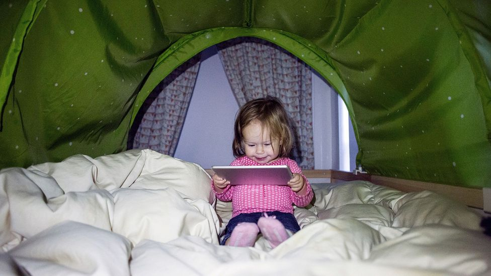 Increasing use of technology may have boosted our IQs from an early age (Credit: Alamy)