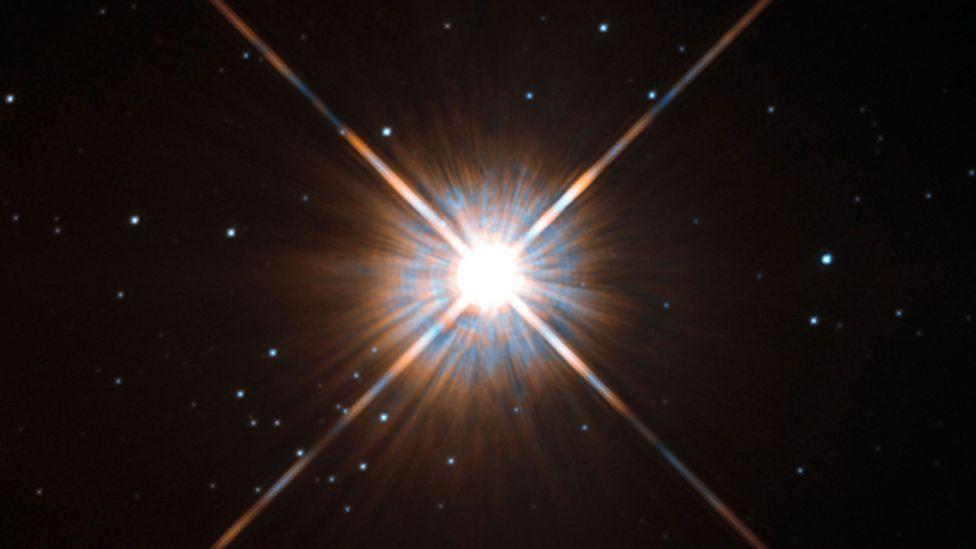 Proxima Centauri, our closest stellar neighbour (Credit: ESA/Hubble)