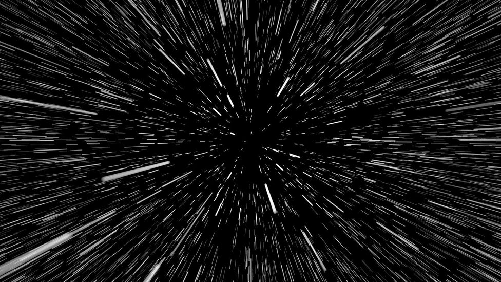 Light-speed travel is beyond reach, and likely impossible (Credit: iStock)