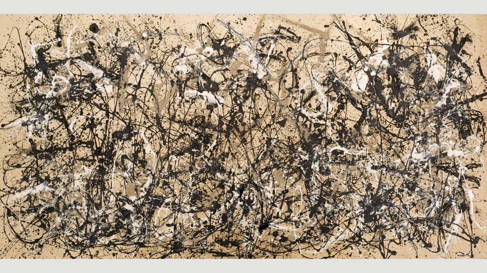 The Metropolitan Museum in New York acquired Jackson Pollock's Autumn Rhythm for an unprecedented sum in 1957, a year after the artist's death (Credit: Metropolitan Museum)