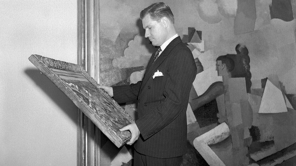 Nelson Rockefeller was the president of MoMA in the 1940s and 1950s and had close ties with figures in US intelligence (Credit: Getty Images)