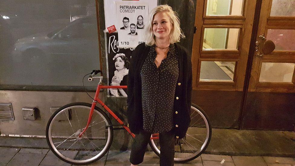 Sweden's egalitarian norms benefit many expats, like Rachel Matchett. Childcare is inexpensive and divorce holds less stigma. (Credit: Rachel Matchett)