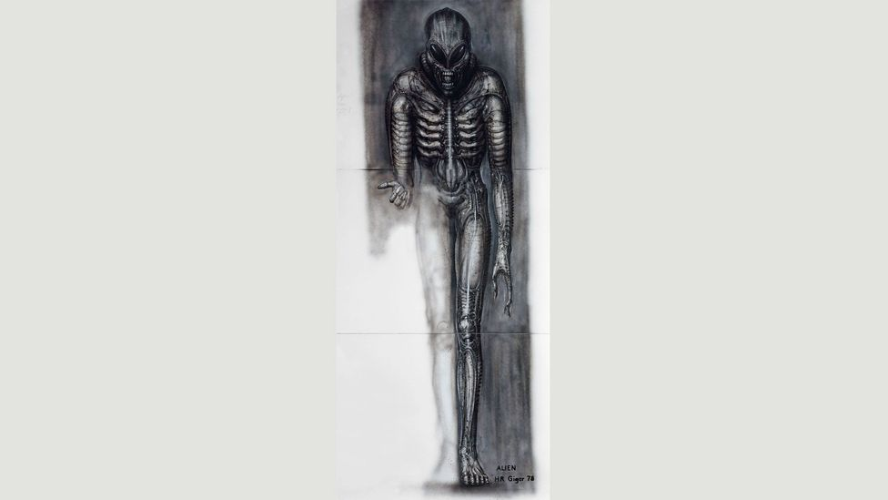 """Ridley Scott said that """"Giger's art digs down into our psyches and touches our very deepest primal instincts and fears"""". (Credit: HR Giger/Courtesy of Taschen)"""