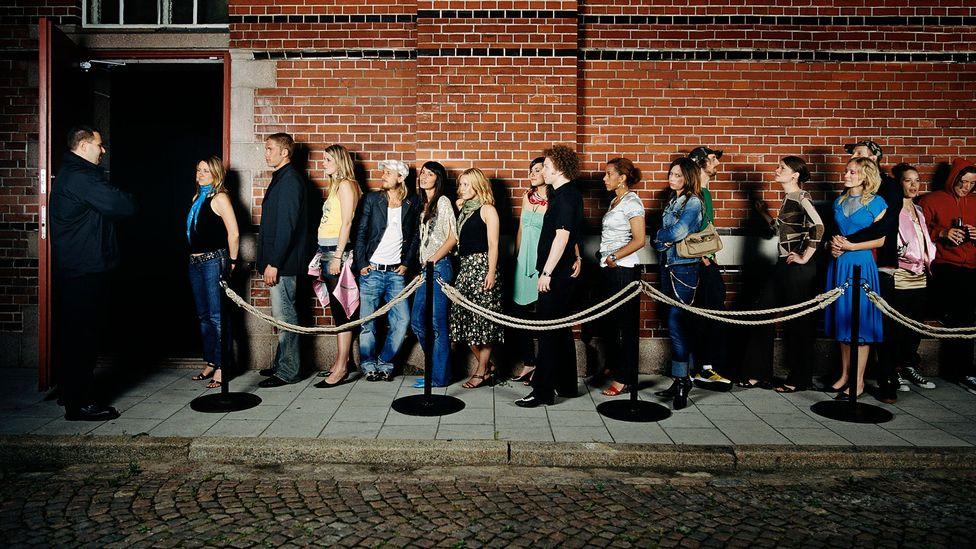 Nightclub queue (Credit: Getty Images)