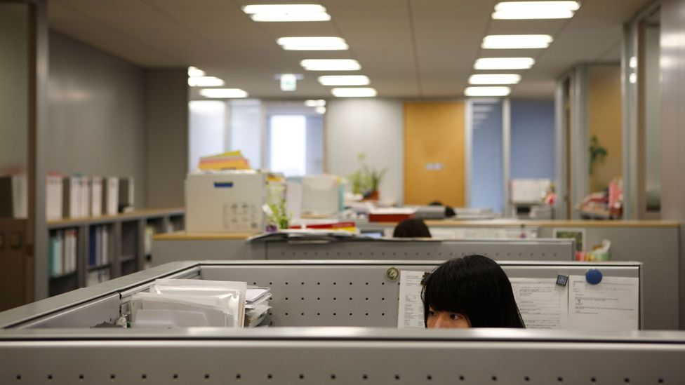 The word ofisuredii comes from the Japanese pronunciation of 'office lady' and refers to a female desk worker (Credit: Alamy)
