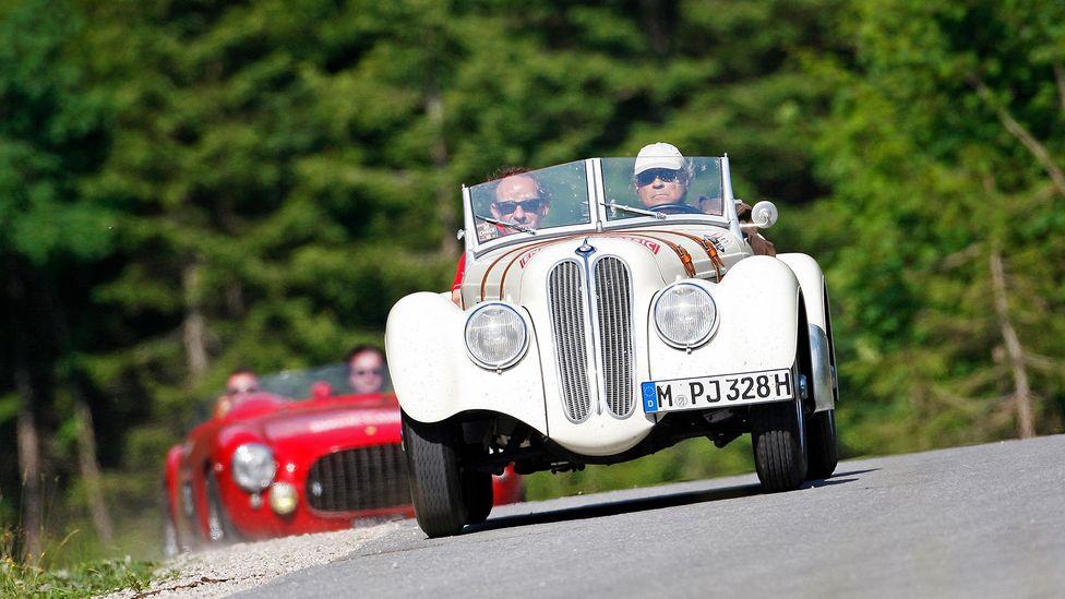 Der Oldtimer is a German word for a classic or vintage car (Credit: Alamy)