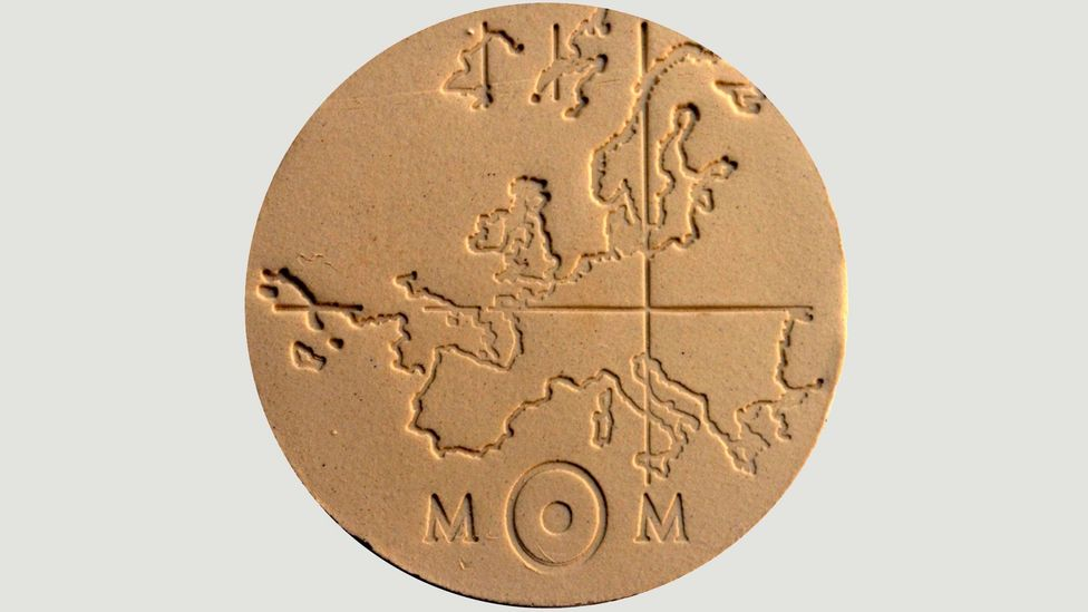 Small tokens, scattered around the world, will guide future generations to the underground archive of forgotten knowledge (Credit: Memory of Mankind)