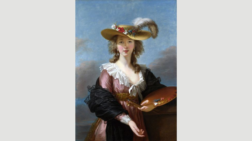 Vigée Le Brun painted her Self-Portrait in a Straw Hat in 1782 after encountering the work of Rubens in Antwerp on a tour of Flanders (Credit: Wikipedia)