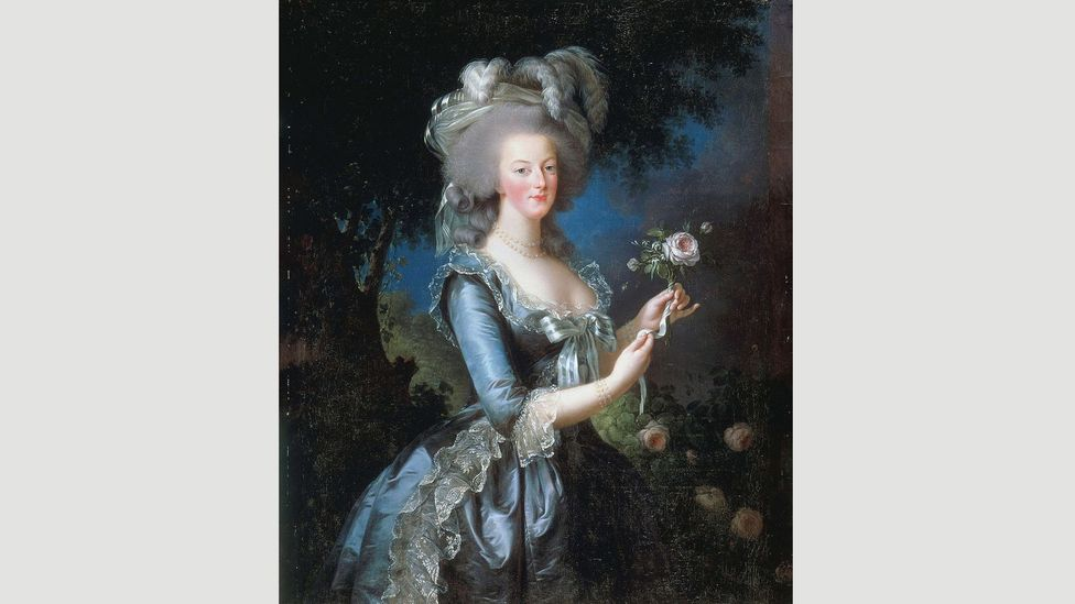 Vigée Le Brun's portraits of Marie Antoinette flattered the sitter, softening her strong Habsburg features and enduring the painter to the queen (Credit: Wikipedia)
