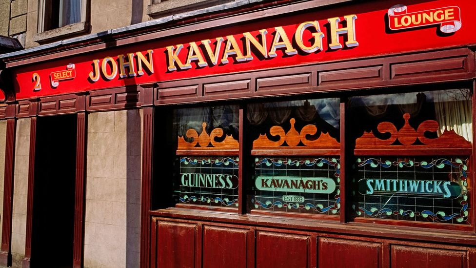 John Kavanagh, locally known as Gravediggers, strictly forbids singing and dancing (Credit: Design Pics Inc / Alamy Stock Photo)