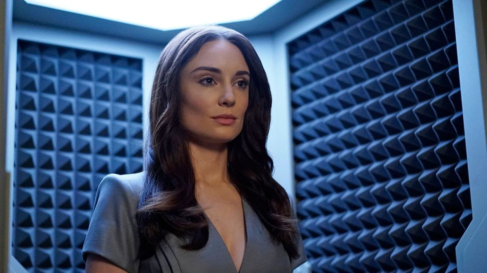 Fembots, or 'gynoids' as they have been more recently called, have been popular on US TV in the past decade, such as on Battlestar Galactica and Agents of Shield (Credit: ABC)