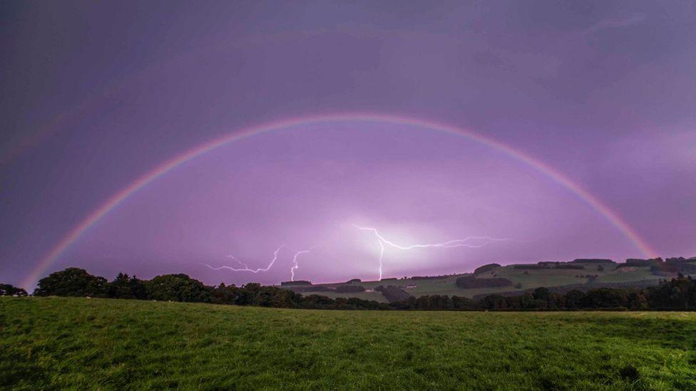 Rainbow Around The Moon