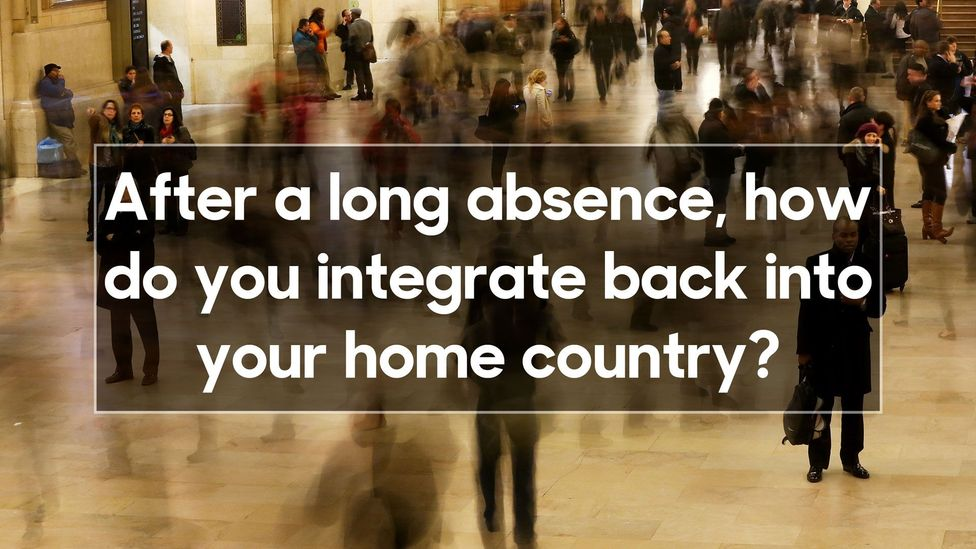 The problem ith being a long-term expat