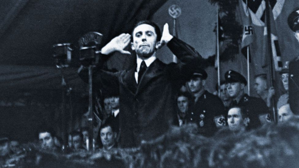 The 'illusion of truth' can be a dangerous weapon in the hands of a propagandist like Joseph Goebbels (Credit: Getty Images)