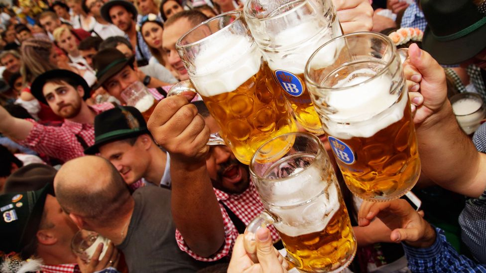 Oktoberfest is known for offering a wide variety of beers (Credit: Johannes Simon/Getty)