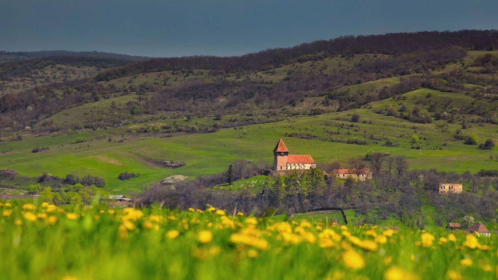 Rural Transylvania was a perfect breeding ground for the vampire myth (Credit: Alamy)