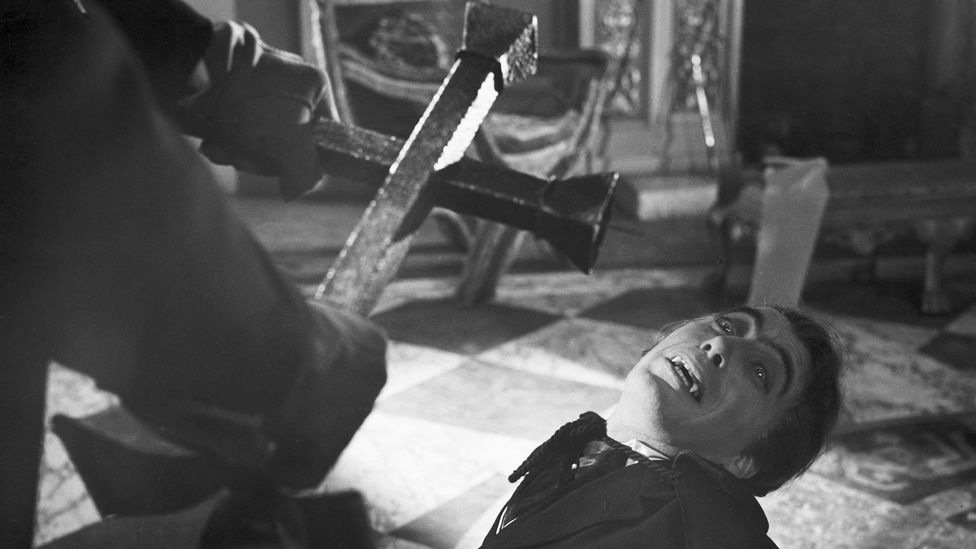 Without sophisticated medical knowledge, it was easier to blame some maladies on fanged killers like Dracula (Credit: Getty Images)