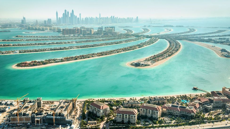 Dubai has been building extensively into the sea (Credit: iStock)