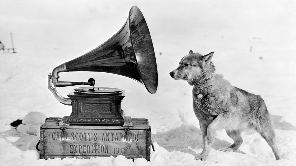 Captain Scott took two gramophones to the continent for his final, tragic expedition (Credit: Getty)