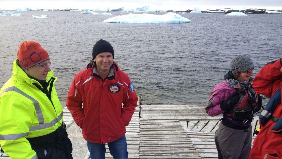 Geophysicist Bogdan Gavrylyuk is the closest thing Antarctica has to a rock star (Credit: Alex Marshall)