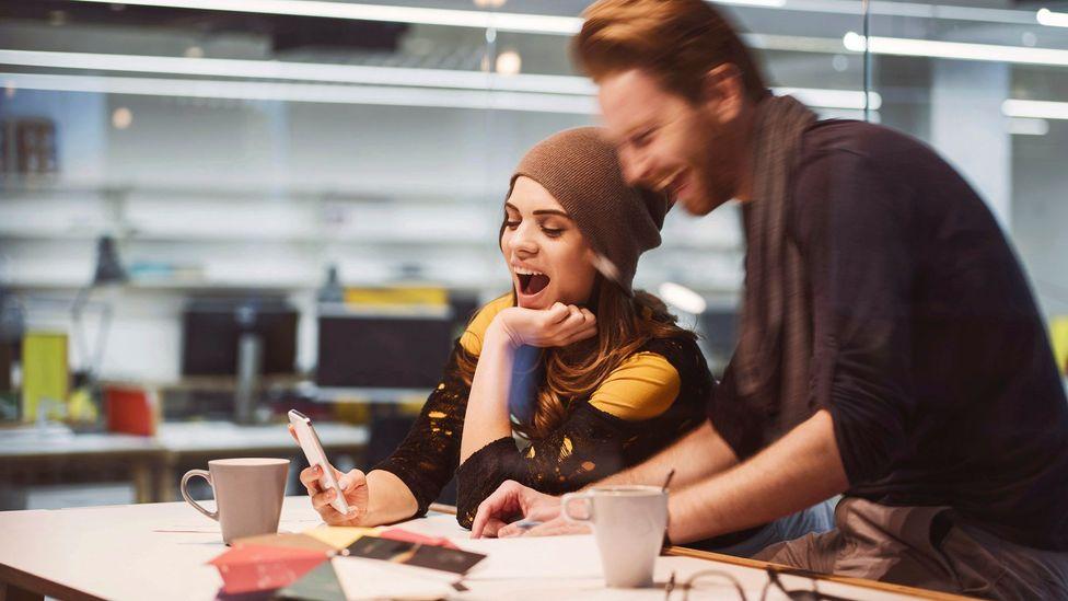 Flirting work spouse 'Work