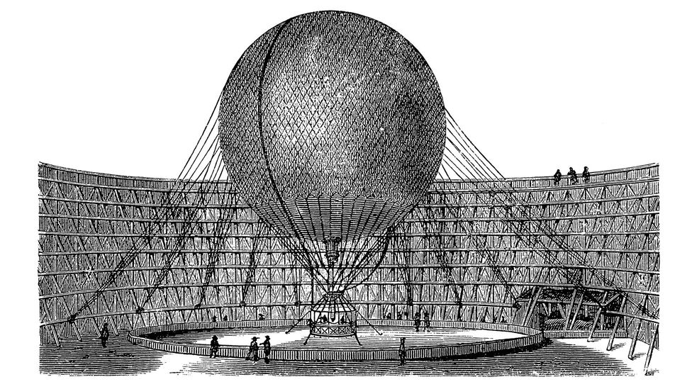 The early flights by pioneering balloonists helped pave the way toward space travel (Credit: Stock)