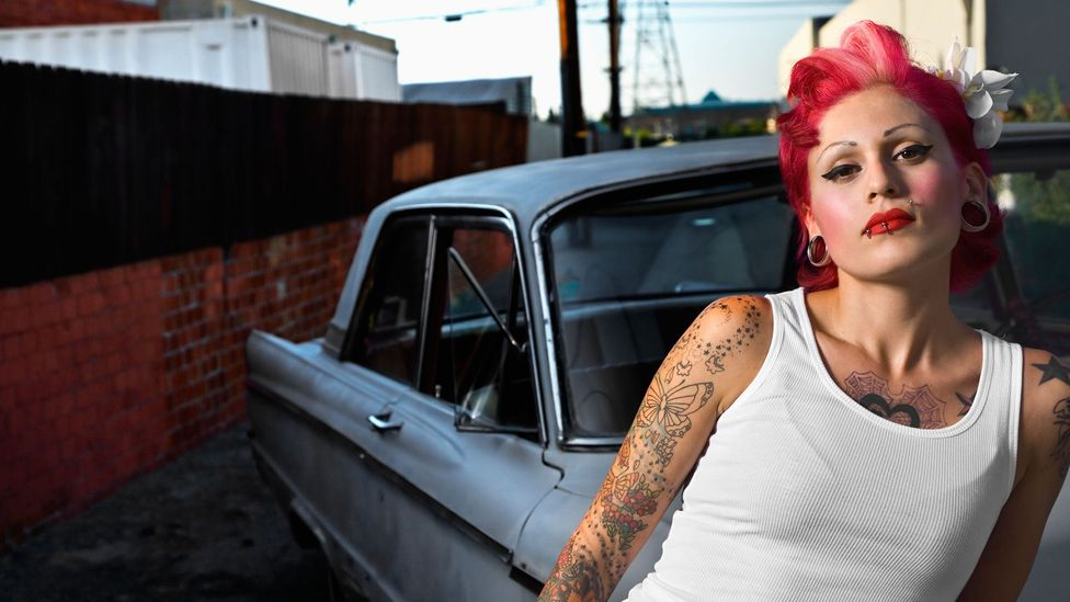 Tattooing is now well-established on both sides of the Atlantic (Credit: Blend Images/Alamy)